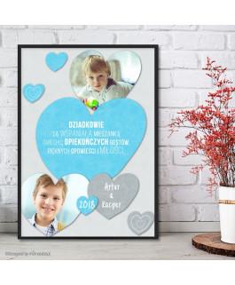 Serce niebieskie + 2...