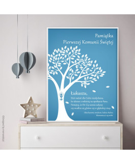 Drzewo niebieskie -...