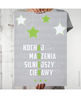 Arek - gwiazdy - plakat z...