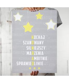 Konrad - gwiazdy żółte -...