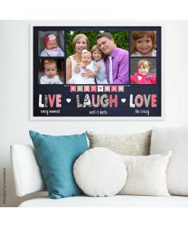 Best mum + zdjęcia - Plakat...