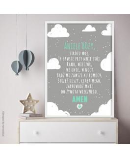 Aniele Boży Chmury miętowe...