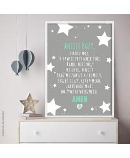 Aniele Boży Gwiazdy duże...