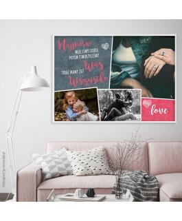 Plakat ze zdjęciami LOVE -...