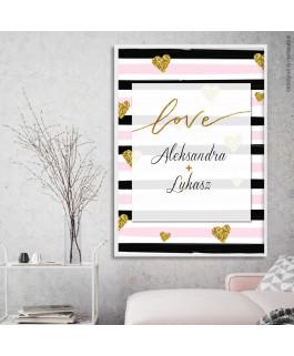 Love złote imiona pary -...
