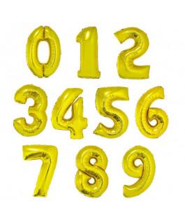 Balony cyfry na hel 0-9...
