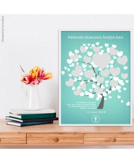 Księga gości - drzewo...