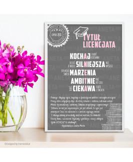 Licencjat z imieniem -...