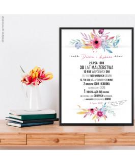 Kolorowe kwiaty 2 -...