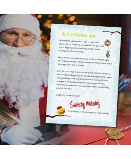List od świętego Mikołaja -...