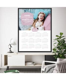 Kalendarz z dużym zdjęciem...