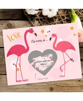 Czy wiesz, że ... flamingi...