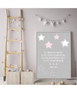 Gwiazdy różowe - sentencja