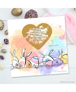 Kartka Wielkanocna akwarela...