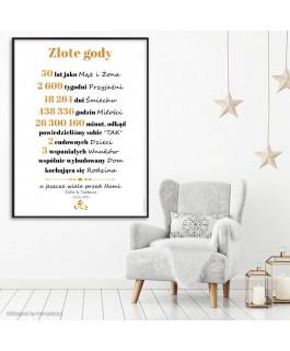 Złote gody plakat -...