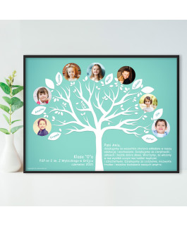 Drzewo miętowe tablo ze...