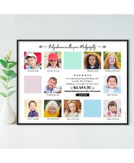 Tablo pastele ze zdjęciami...