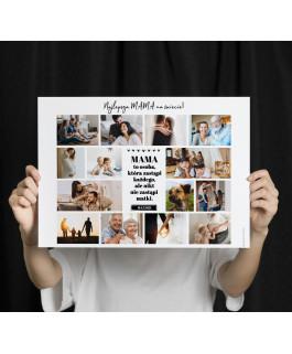 Kolaż 2 - Plakat dla mamy /...
