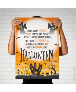 Plakat Halloween - do druku...