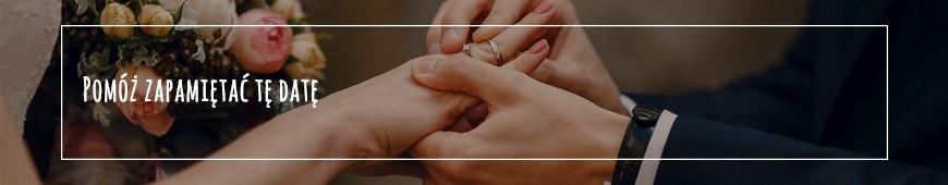 Plakaty na ślub dla pary młodej - Memorabli